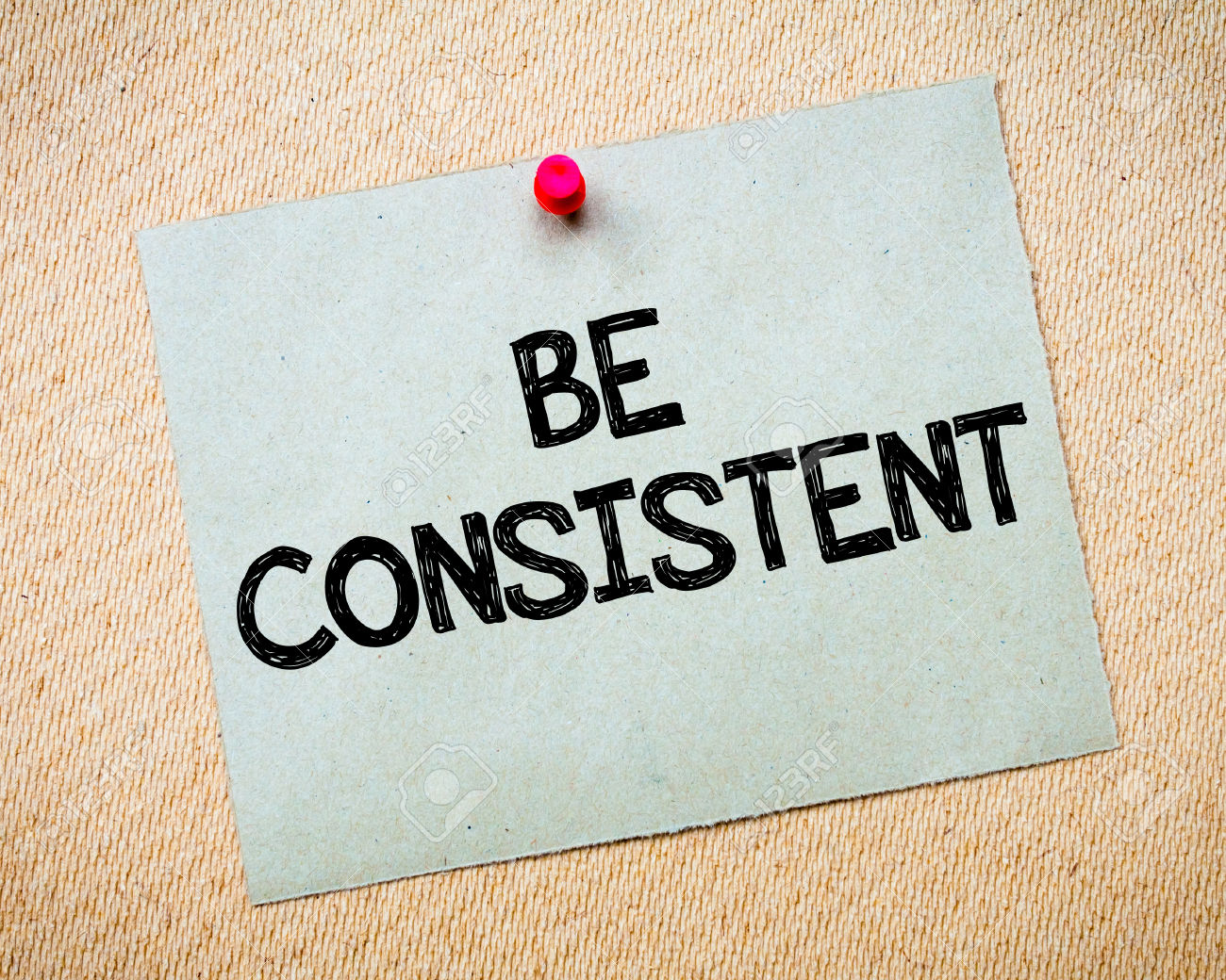 Be Consistent Viyom